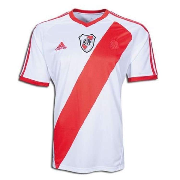 Jerseys / Soccer: Adidas River Plate 11/12 Home S/s Jersey P95211 - Adidas / S / White/red / 1112 Adidas Clothing Home Kit Jerseys |