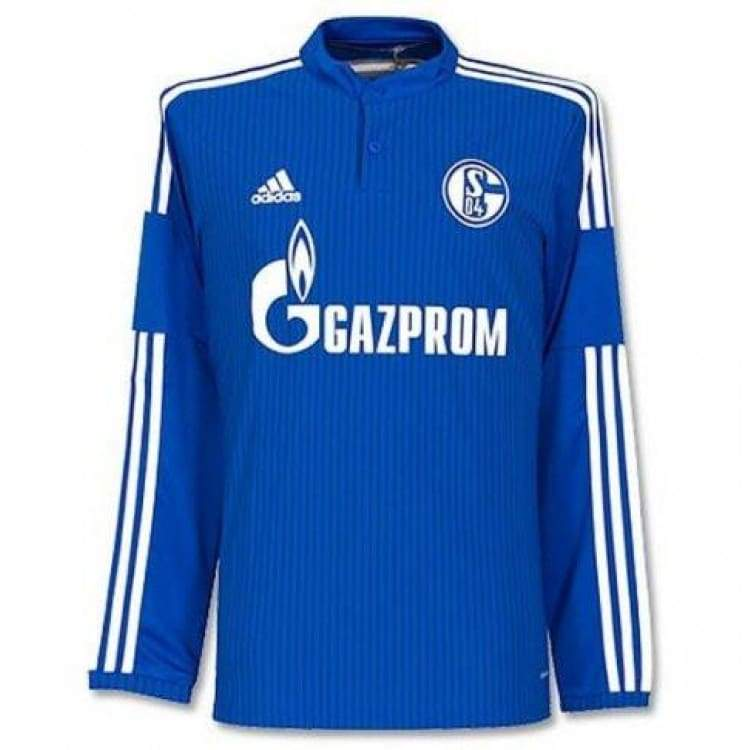 Jerseys / Soccer: Adidas Schalke 04 Fc 14/15 (H) L/s F77263 - Adidas / S / Blue / 1415 Adidas Blue Clothing Home Kit |