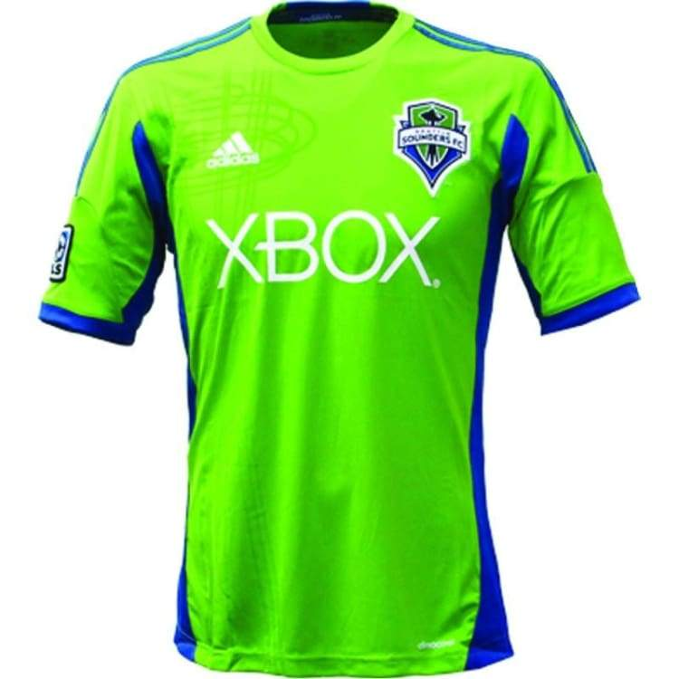 Jerseys / Soccer: Adidas Seattle Sounders Fc 13/14 (H) S/s Z06838 - Adidas / S / Green / 1314 Adidas Clothing Green Home Kit |