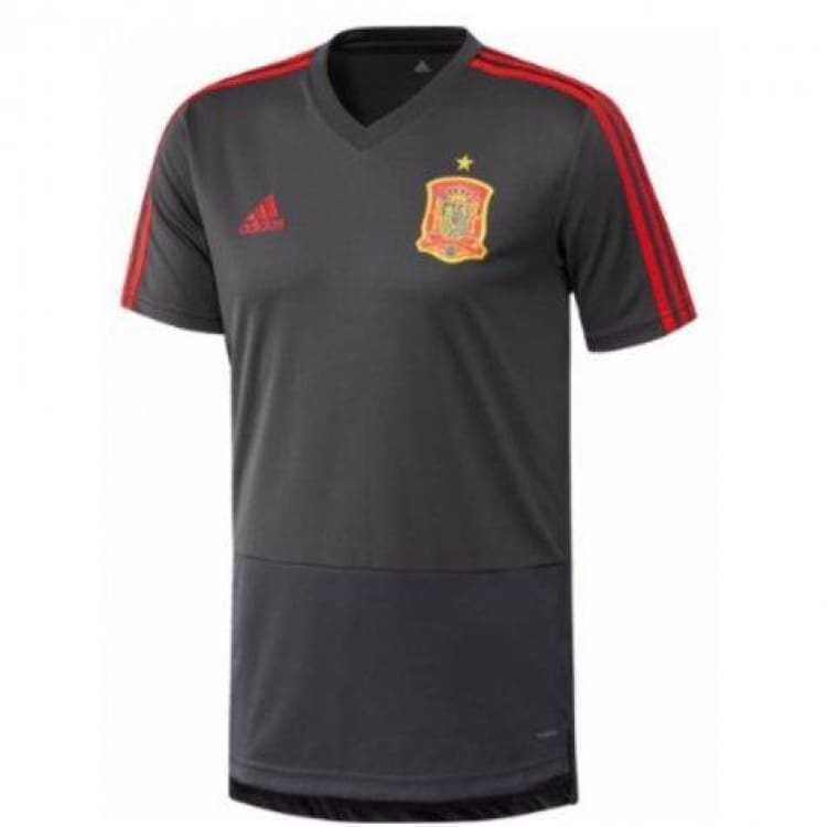 Jerseys / Soccer: Adidas Spain 2018 Training Jersey (Solid Grey) Ce8827 - Adidas / S / Grey / 2018 2018 Fifa World Cup 2018 World Cup Adidas