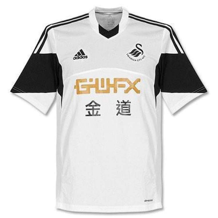 Jerseys / Soccer: Adidas Swansea City 13/14 (H) S/s F41354 - Adidas / S / White / 1314 Adidas Clothing Home Kit Jerseys |