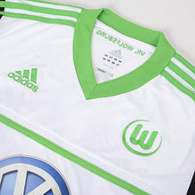Jerseys / Soccer: Adidas Wolfsburg 12/13 (A) S/s W67469 - 1213 Adidas Away Kit Clothing Jerseys
