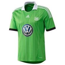 Jerseys / Soccer: Adidas Wolfsburg 13/14 (A) S/s Jersey G69016 - 1314 Adidas Away Kit Clothing Green