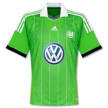 Jerseys / Soccer: Adidas Wolfsburg 13/14 (A) S/s Jersey G69016 - Adidas / M / Green / 1314 Adidas Away Kit Clothing Green |