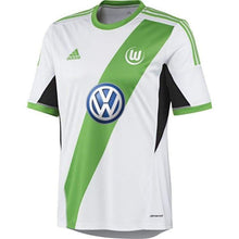 Jerseys / Soccer: Adidas Wolfsburg 13/14 (H) S/s G68990 - Adidas / S / White / Green / 1314 Adidas Clothing Home Kit Jerseys |
