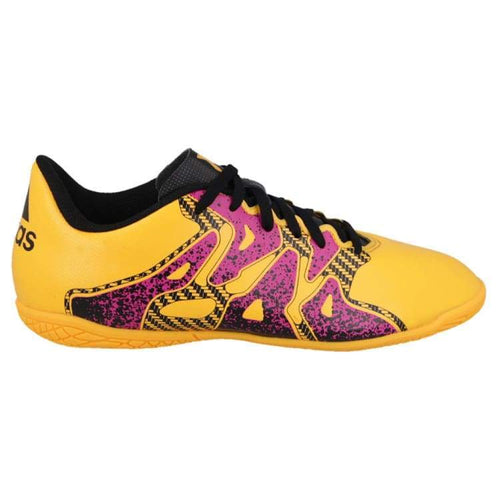 Shoes / Soccer: Adidas X 15.4 In J Gld/pk S74605 - Adidas / Us: 4.0 / Gold/pink / Adidas Footwear Gold/pink Kids Land | Ochk-Sfalo-S74605-40