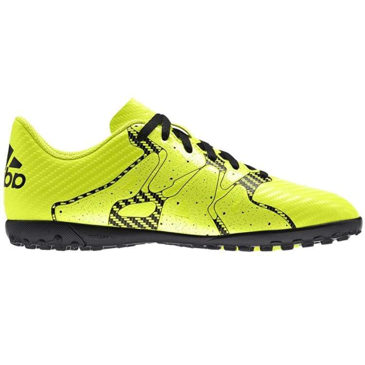 Shoes / Soccer: Adidas X 15.4 Tf J Yel/bk B32950 - Adidas / Uk: 5.5 / Yellow / Adidas Footwear Land Mens On Sale |