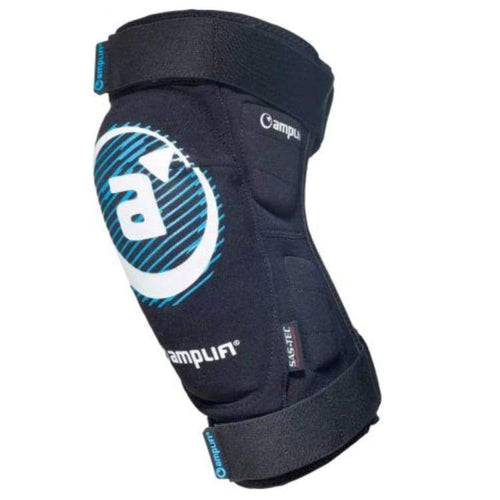 Protectors / Knee Guard: Amplifi Salvo Polymer Knee Black 1819 - Amplifi / S / Black / 1819 Amplifi Black Gear Ice & Snow |