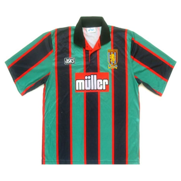 Jerseys / Soccer: Asics Aston Villa 1994 (H) S/s Sseng08940A - Asics / 2Xl / Green / Asics Clothing Football Green Jerseys |