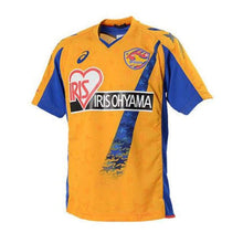 Jerseys / Soccer: Asics Vegalta Sendai 13/14 Home S/s Jersey Xs1074-Vs07 - Asics / Jaspo: L / Yellow / 1314 Asics Clothing Football Home Kit
