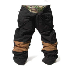 Pants / Snow: Badass 2Way Pants - Black - Badass Black Clothing Ice & Snow Mens