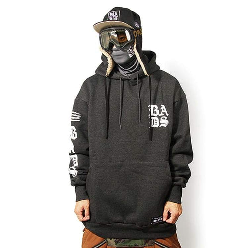 Hoodies & Sweaters: Badass Armfull Hood - Charcoal - Badass / Charcoal / Xl / Badass Charcoal Clothing Hoodies & Sweaters Ice & Snow |