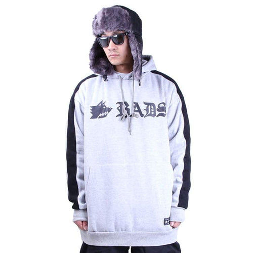 Hoodies & Sweaters: Badass Bruce Hood - Grey - Badass / Grey / Xl / Badass Clothing Grey Hoodies & Sweaters Ice & Snow |