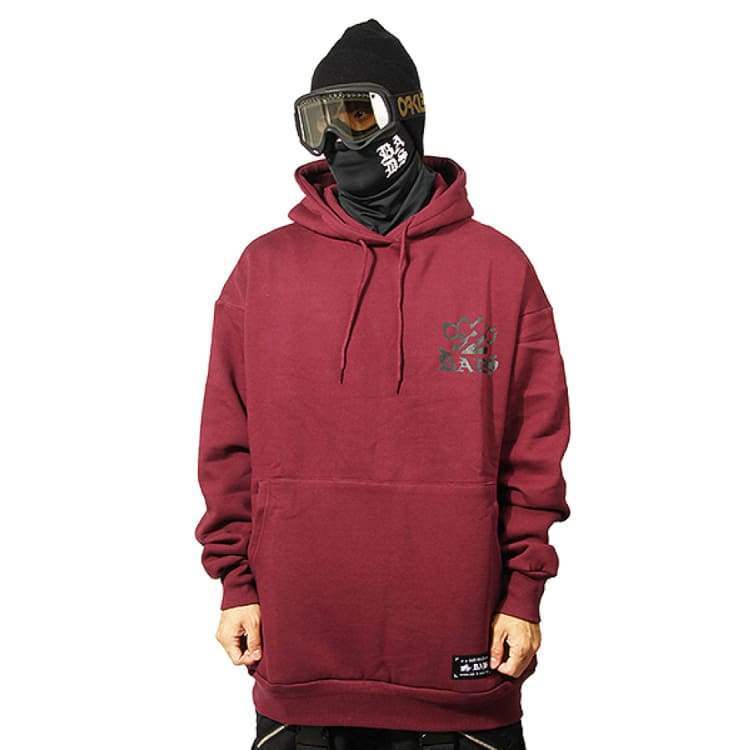 Hoodies & Sweaters: Badass Digin Hood - Burgundy - Badass / Burgundy / 2Xl / Badass Burgundy Clothing Hoodies & Sweaters Ice & Snow |