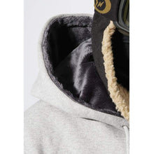 Hoodies & Sweaters: Badass Hunter Hood - Grey - Badass Clothing Grey Hoodies & Sweaters Ice & Snow