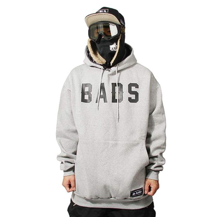 Hoodies & Sweaters: Badass Hunter Hood - Grey - Badass / Grey / Xl / Badass Clothing Grey Hoodies & Sweaters Ice & Snow | Ocjp-Yorozwagon-