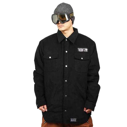 Jackets / Snow: Badass Rest Shirts Jacket - Black - Badass / Black / 2Xl / Badass Black Clothing Ice & Snow Jackets |