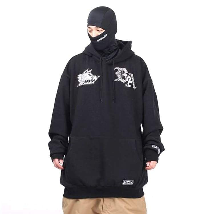Hoodies & Sweaters: Badass Snake Hoodie - Black - Badass / Black / 3Xlt / Badass Black Clothing Hoodies & Sweaters Ice & Snow |