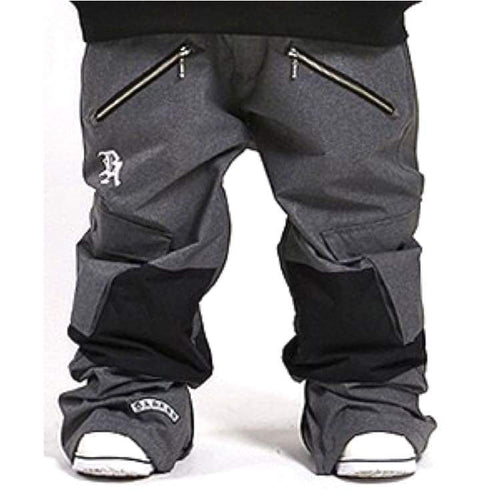 Pants / Snow: Badass Team Pants - Grey - Badass / Grey / Xl / Badass Clothing Grey Ice & Snow Mens | Ocjp-Yorozwagon-15Ba2200-Gry-1
