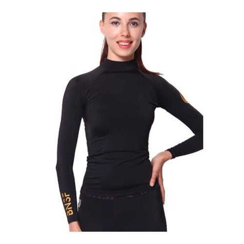 Rashguards & Tops: Banana Surf: Jan Juc Rashguard - Banana Surf / Xs / Black / Banana Surf Black Clothing On Sale Rashguards & Tops |