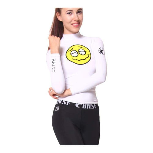 Rashguards & Tops: Banana Surf: Winki Rashguard - White - Banana Surf / Xs / White / Banana Surf Clothing On Sale Rashguards & Tops Surf
