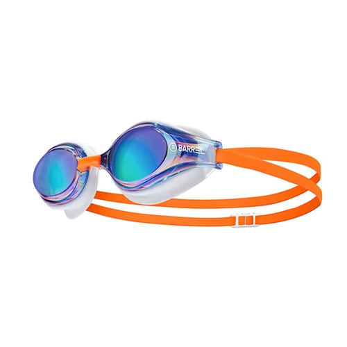 BARREL Challenger Swim Goggle-BLUE/ORANGE - OSFA / Blue/Orange - Swim Goggles | BARREL HK