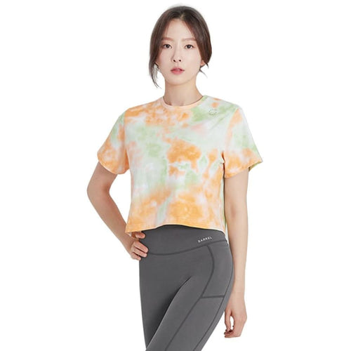 Barrel Fit Womens Crop S/S Tee-ORANGE - Short Sleeves | BARREL HK