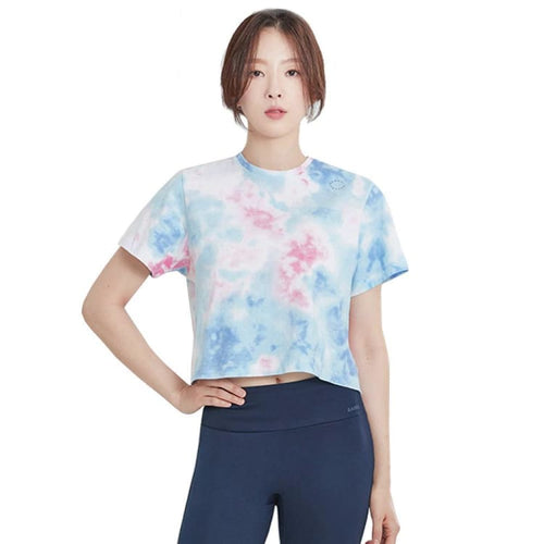 Barrel Fit Womens Crop S/S Tee-SKYBLUE - Short Sleeves | BARREL HK