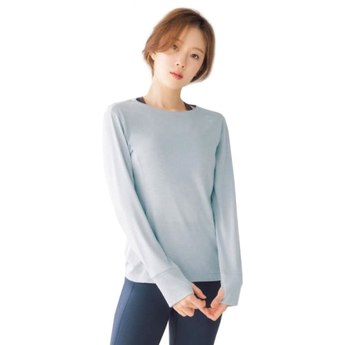 Barrel Fit Womens Easy L/S Tee-SKYBLUE - Long Sleeves | BARREL HK