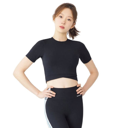 Barrel Fit Womens Easy S/S Tee-BLACK - Short Sleeves | BARREL HK