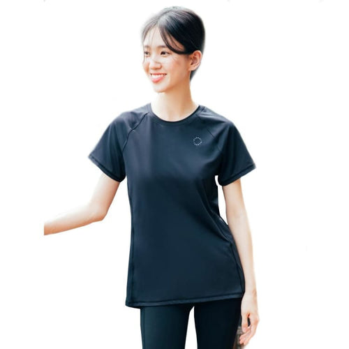 Barrel Fit Womens Relax S/S Tee-BLACK - Short Sleeves | BARREL HK