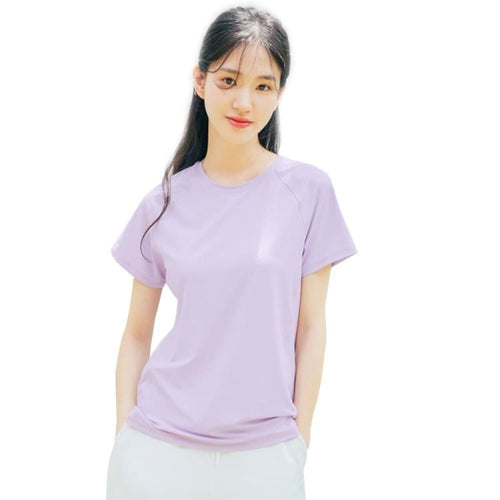 Barrel Fit Womens Relax S/S Tee-LIGHT PURPLE - Short Sleeves | BARREL HK