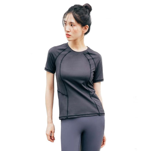Barrel Fit Womens Slim S/S Tee-BLACK - Short Sleeves | BARREL HK