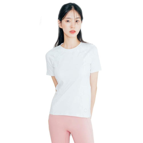 Barrel Fit Womens Slim S/S Tee-IVORY - Short Sleeves | BARREL HK