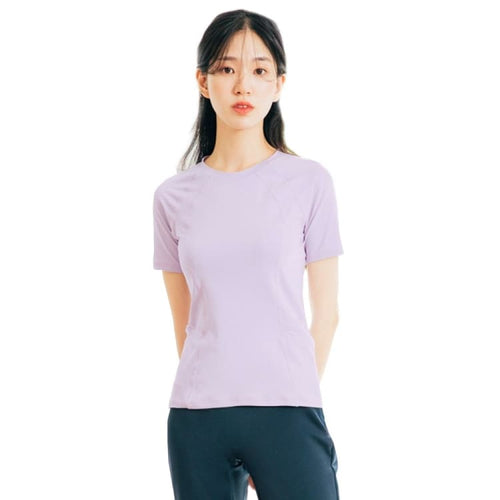Barrel Fit Womens Slim S/S Tee-PALE PURPLE - Short Sleeves | BARREL HK