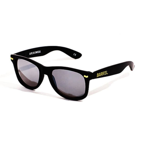 Barrel Horizon Sunglasses-BLACK/BLACK - Black/Black - Sunglasses