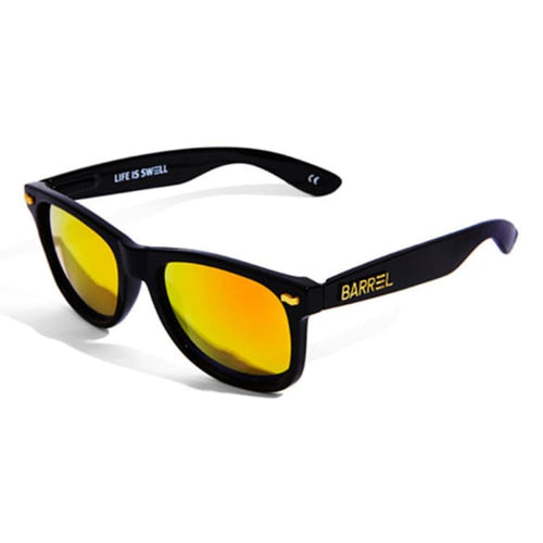 Barrel Horizon Sunglasses-BLACK/FIRE - Black/Fire - Sunglasses