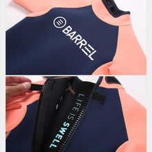 Wetsuits / Shorty: Barrel Kids 1mm Neoprene Spring Suit-MINT/PINK - 2019 BARREL BARREL HK Gear Kids | OCHK-BARREL-19BW7KNPO001-MPNK-S