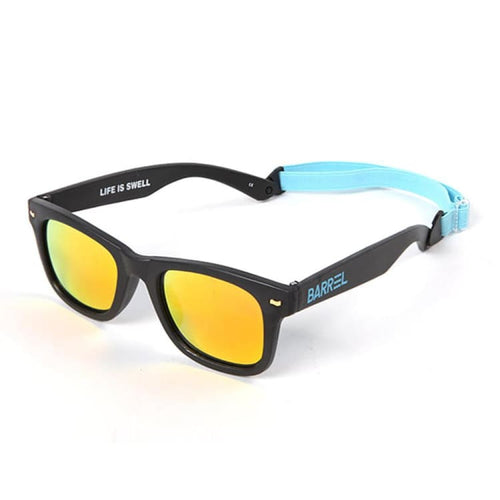 Barrel Kids Horizon Sunglasses Mini-BLACK - Black - Sunglasses | BARREL HK