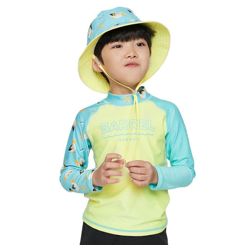 Barrel Kids Summer Rashguard-PALE NEON YELLOW - Rashguards | BARREL HK