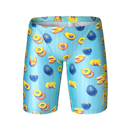 Barrel Kids Training Pattern Jammer Swimsuit-AVOCADO - XS / Avocado - Swimsuits