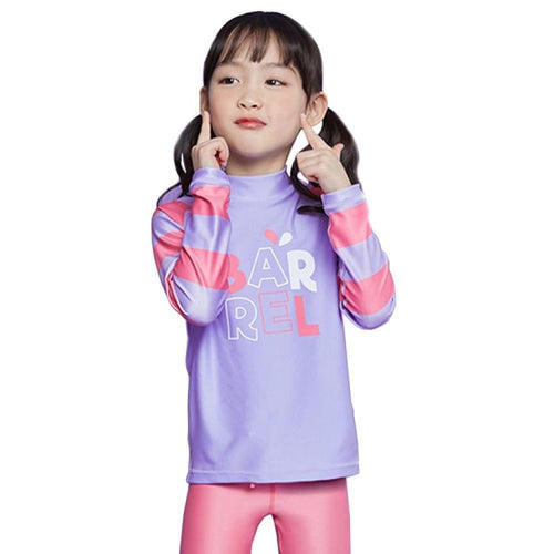 Barrel Kids Wally Rashguard-PALE PURPLE - Rashguards | BARREL HK