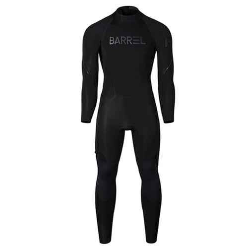 Barrel Mens 3mm Neoprene Back Zip Full Suit-BLACK - Fullsuits | BARREL HK