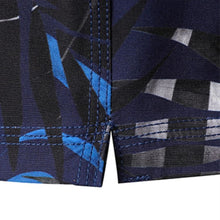 Barrel Mens Beach Pattern Boardshorts-NAVY/NAVY JUNGLE - Boardshorts
