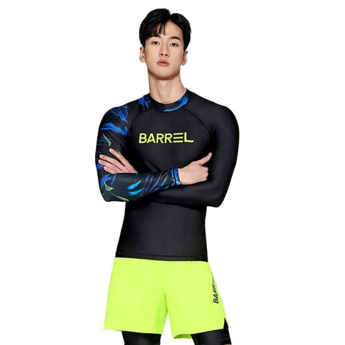 Barrel Mens Odd Rashguard-BLACK - Rashguards | BARREL HK