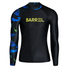 Barrel Mens Odd Rashguard-BLACK - M / Black - Rashguards | BARREL HK