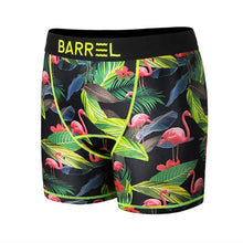 Barrel Mens Point Pattern Innerwear-BLACK FLAMINGO - Inner Wear