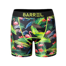Barrel Mens Point Pattern Innerwear-BLACK FLAMINGO - S-M / Black Flamingo - Inner Wear