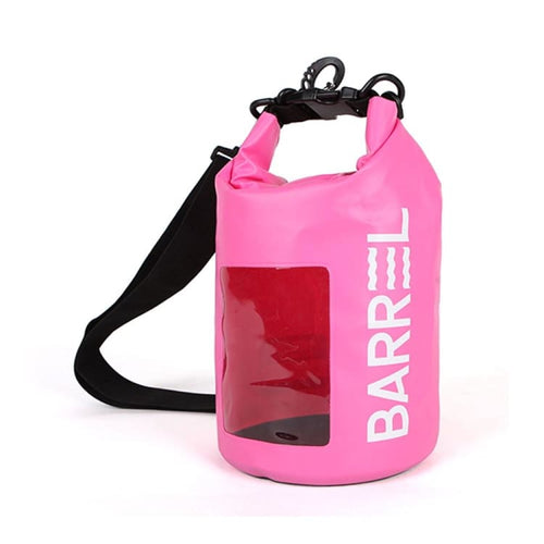 Bags / Waterproof: Barrel Mini Dry Bag 4L-NEON PINK - Neon Pink / 2019 Accessories Bags Bags / Waterproof BARREL |