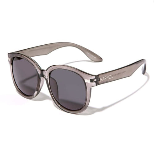 Barrel Round Sunglasses-BLACK CLEAR - Black Clear - Sunglasses